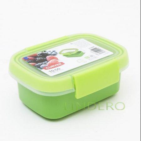 фото: Контейнер пищевой прямоугольный TO GO 0.2л зеленый [00944-Y32-00]