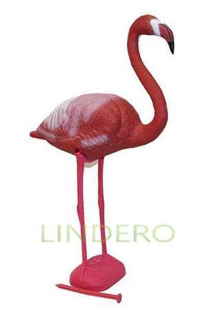 фото: Фламинго пластиковый розовый, 60*22*83 см [009]