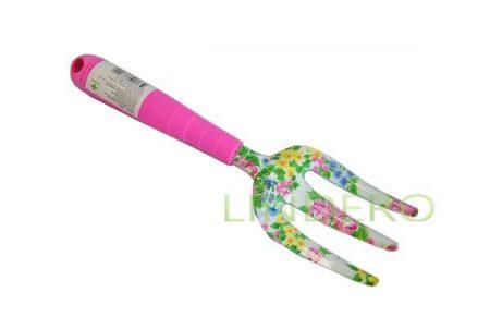 фото: Вилка с цветным принтом пласт. ручка l=29, w=9см [Y2502C]