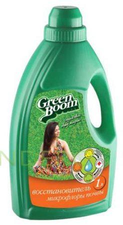 фото: Препарат для возрождения микрофлоры почвы Green Boom 1л [выв]