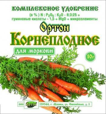 фото: Ортон-крнеплодное для моркови пак. 10г []