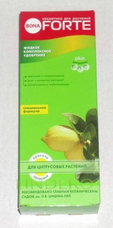 фото: Bona Forte ЖКУ для цитрусовых растений 285мл [BF21010241]