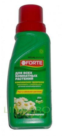фото: Bona Forte ЖКУ. для всех комнатных растений растен.285мл [BF21010191]