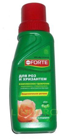 фото: Bone Forte ЖКУ для всех сортов роз и хризантем 285мл [BF21010251]