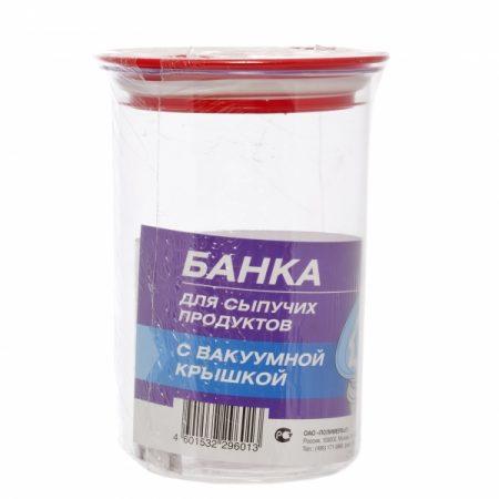 фото: Банка для сыпучих продуктов 1л с вакуумной крышкой [C29601]