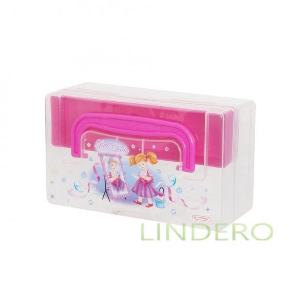 фото: «KIDS BOX» КОРОБКА ДЛЯ МЕЛОЧЕЙ 0,8Л  С ВКЛАДЫШЕМ 170х108х78 [c30902]