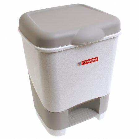 фото: Контейнер педальный для мусора 20л [C428]