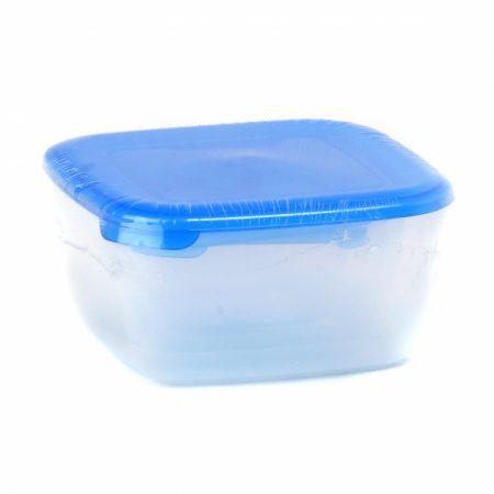 фото: Набор контейнеров для СВЧ 4шт 0.46+0.95+1.5+2.5л квадратные [C546]