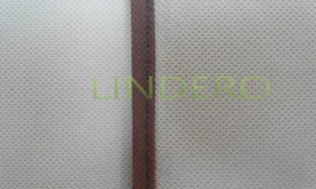 фото: Чехол двойной для одежды большой, 60х130х20см (бежевый) [1404]