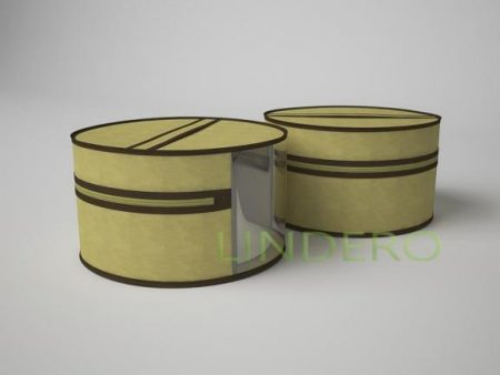 фото: Чехол для шапок, диаметр 35см (бежевый) [1416]
