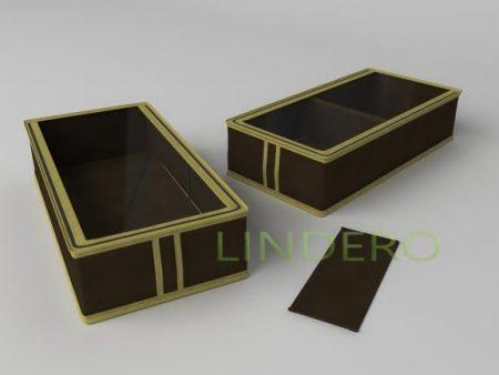 фото: Короб для сапог и полусапожек 26х52х12  (коричневый) [1535]