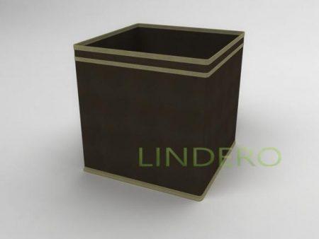 фото: Коробка – куб (жёсткий) 32х32х32см (коричневый) [1538]