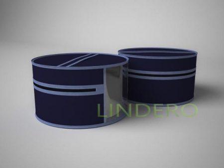 фото: Чехол для шапок, диаметр 35см (Синий) [1716]