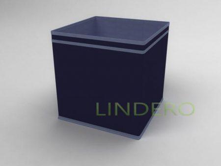 фото: Коробка – куб (жёсткий) 32х32х32см (Синий) [1738]