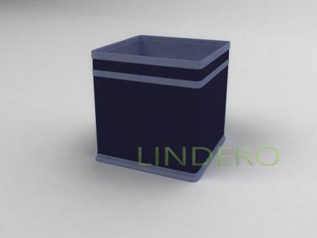 фото: Коробка – куб (жёсткий) 17х17х17см (Синий) [1741]
