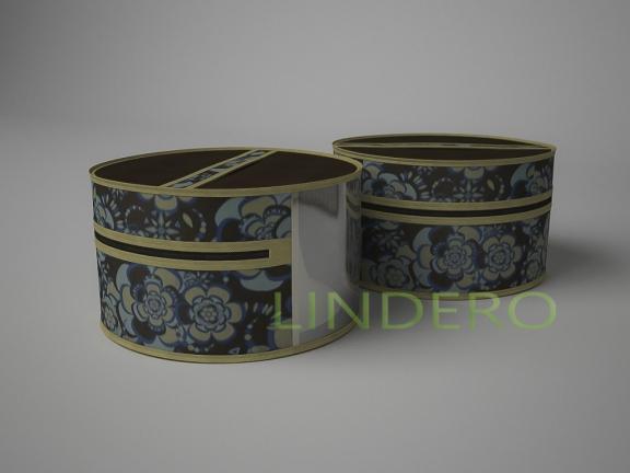 фото: Чехол для шапок, диаметр 35см (Прованс) [1316]