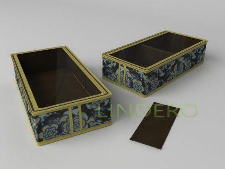 фото: Короб для сапог и полусапожек 26х52х12 (Прованс) [1335]