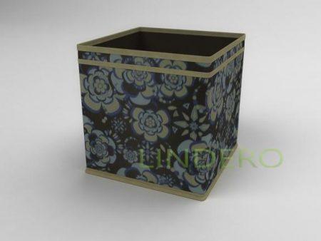 фото: Коробка – куб (жёсткий) 27х27х27см (Прованс) [1339]