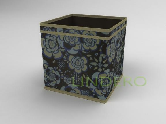 фото: Коробка — куб (жёсткий) 27х27х27см (Прованс) [1339]