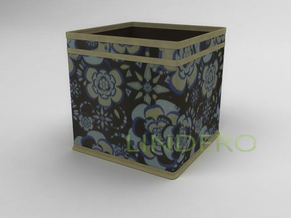 фото: Коробка — куб (жёсткий) 22х22х22см (Прованс) [1340]