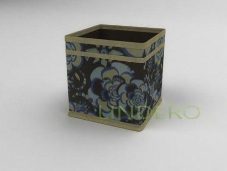 фото: Коробка – куб (жёсткий) 17х17х17см (Прованс) [1341]