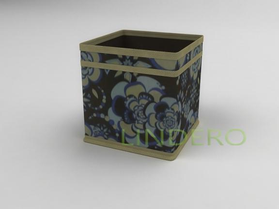 фото: Коробка — куб (жёсткий) 17х17х17см (Прованс) [1341]