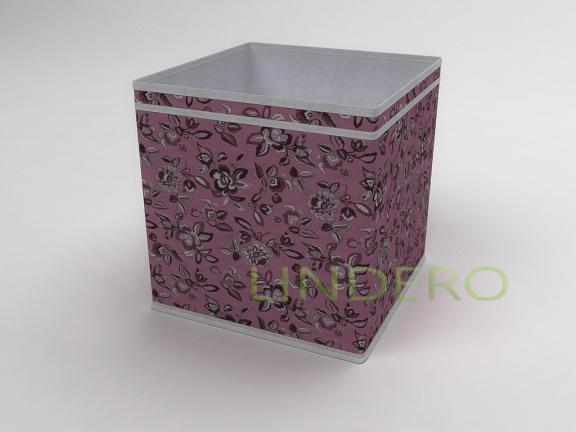 фото: Коробка — куб (жёсткий) 32х32х32см (Зефирка) [10038]