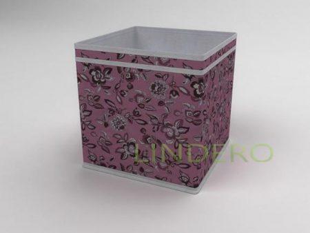 фото: Коробка – куб (жёсткий) 27х27х27см (Зефирка) [10039]