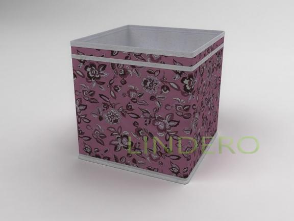 фото: Коробка — куб (жёсткий) 27х27х27см (Зефирка) [10039]