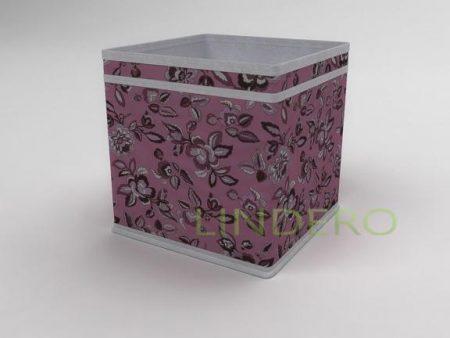 фото: Коробка – куб (жёсткий) 22х22х22см (Зефирка) [10040]