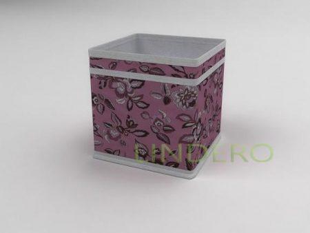 фото: Коробка – куб (жёсткий) 17х17х17см (Зефирка) [10041]