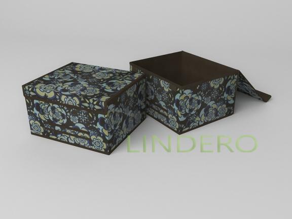 фото: Короб для хранения (жесткий) 35х30х20см (Прованс) [1342]