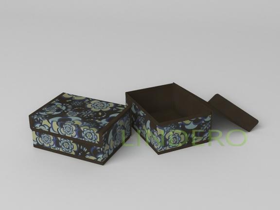 фото: Короб для хранения (жесткий) 23х17х10см (Прованс) [1345]