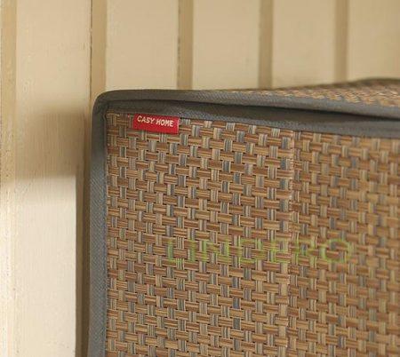 фото: Коробка для хранения с крышкой 35х30х22 ВИНИЛ (гол.) [BO-041]