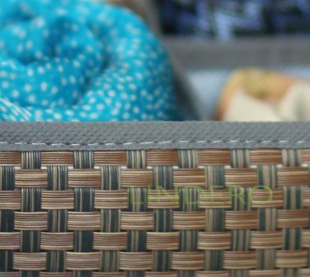 фото: Органайзер для шейных платков и галстуков, 8 ячеек 35х16х10 ВИНИЛ (гол.) [OR-021]