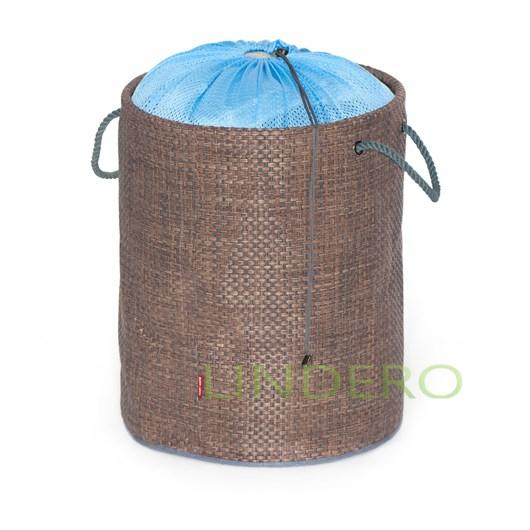 фото: Мягкая корзина для белья, детских игрушек и других вещей 38х47 ВИНИЛ (гол.) [SP-001]