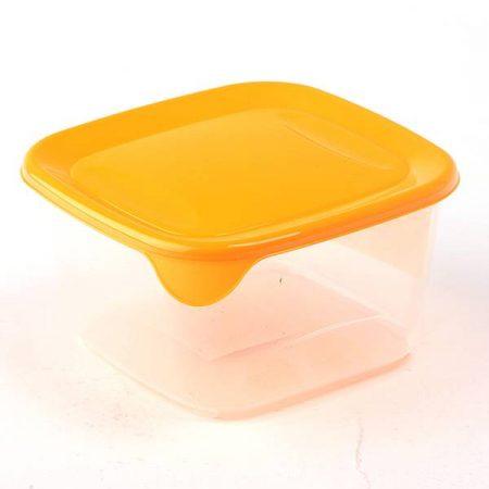 фото: Контейнер Fresh&Go квадратный, 1,2 л жёлтый [00560-007]