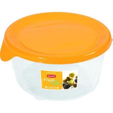 фото: Контейнер Fresh&Go  круглый, 0,5 л жёлтый [00563-007]
