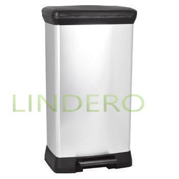 фото: Ведро для мусора с педалью Deco Bin, 50 л [02162]