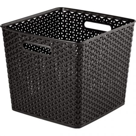 фото: Корзина для хранения My Style Square, 25 л. (т.коричневая) [03613-210]