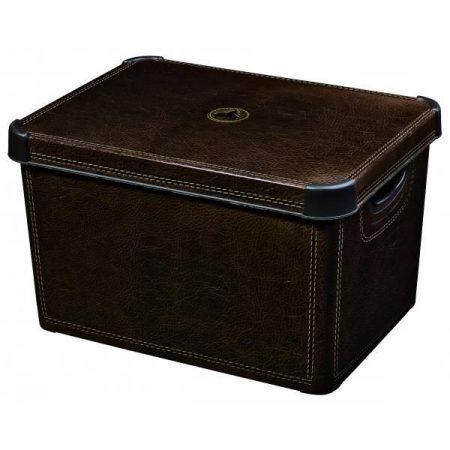 фото: Ящик для хранения Stockholm Leather, 22 л [04711-D12]