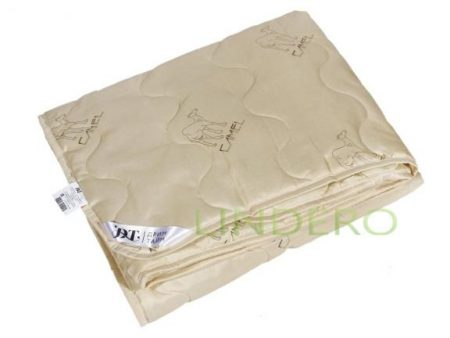 """фото: Одеяло облегч. с нап. """" Верблюжья шерсть"""", ткань полиэстер 172х205 [481020-оэ]"""
