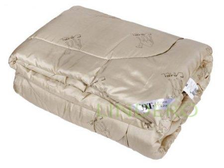 """фото: Одеяло эконом 200*220 с наполнителем """"Верблюжья шерсть"""" ткань полиэстр [481022-э]"""