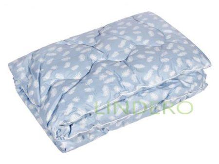 """фото: Одеяло классическое """"Лебяжий пух"""" ткань тик, наполнитель лебяжий пух [48620]"""