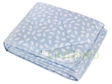 """фото: Одеяло облегченное """"Лебяжий пух"""" ткань тик, наполнитель лебяжий пух [48620-о]"""