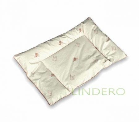 фото: Детская подушка 40х60 с отстрочкой: наполнитель верблюжья шерсть  [ДТ-ПВШД-4060]