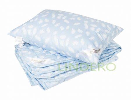 """фото: Детский комплект из облегченного одеяла с наполнителем – """"Лебяжий пух [4810040]"""