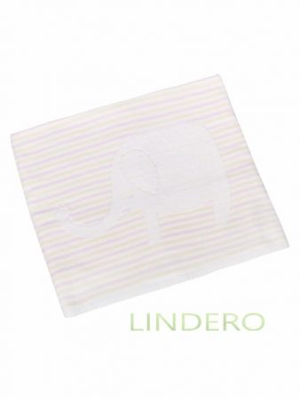 фото: Плед многослойный, 110*110 см., розовый [BLK-ZH085]