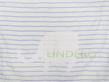 фото: Плед многослойный, 110*110 см., синий [BLK-ZH085]
