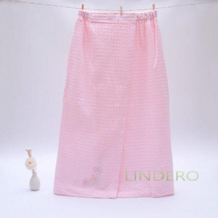 фото: Накидка для сауны, 75*155, розовая [TT-45-CT-1001,розовый]